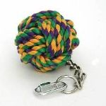 rope ball on chain